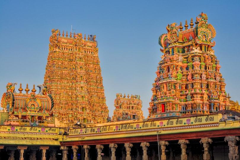 Meenakshi amman temple in tamil nadu
